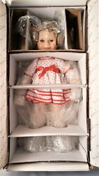 Danbury Mint Shirley Temple Stand Up And Cheer Porcelain Doll Nib