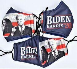 Joe Biden and Harris Face Mask 100% Cotton facemask USA campaign low cheap price