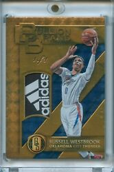 2016-17 Panini Gold Standard Russell Westbrook Patch Logo Tag 1/1 And039adidasand039