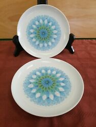 Vintage Noritake Bahama Bread And Butter Plates Pair 6922