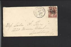 SOUTH BOSTONVIRGINIA.1885 COVER#210 FANCYCL. LETTER ENCL. HALIFAX 1832 OPEN.