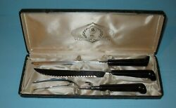 Vintage Glo- Hill Bakelite Kitchen Utensils And Case Free Shipping