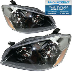 Headlights Left Right Pair Capa For Nissan Altima 2005-2006 2006 S Se Sl
