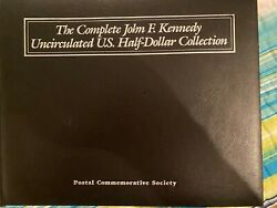 The Complete Jfk Unc Half Dollar Collection Kennedy Coins And Stamps 29 Panels Pcs