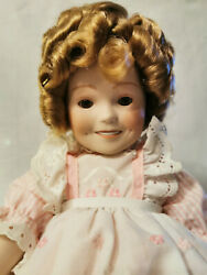 14 Shirley Temple Porcelain Girl Doll Collectible Toy 18