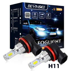 100w H8 H11 Led For Ford Flex 2009-2017 Mustang 2005-2014 Foglight Bulbs 3000lm