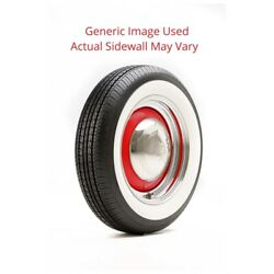 640/700r13 Sprint Classic Vredestein Tire With Red Line - Modified Sidewall 1 Ti