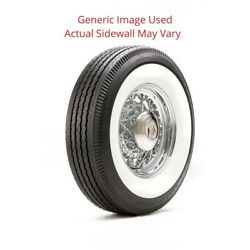 550r16 Deluxe Auburn Tire With 2.25 White Wall - Modified Sidewall 1 Tire