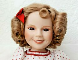 Danbury Mint Shirley Temple Stand Up And Cheer Porcelain Doll