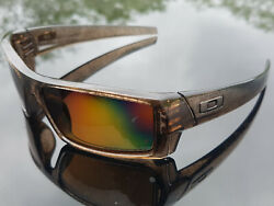 Oakley Gascan S brown ghost text polarized $110.00