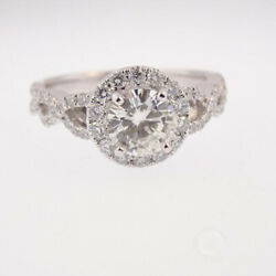 1.05 Ct Real Diamond Engagement Solitaire Ring Solid 950 Platinum Size 5 6 7 8 9