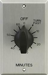 GE In Wall Mechanical Countdown Timer Switch Spring Wound Up to 60 Minutes LED
