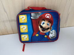 Super Mario Insulated Lunch Bag Lunch Box Kids Super Mario Brothers $8.00