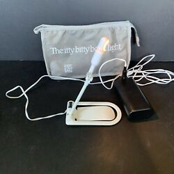 Itty Bitty Book Light - Zelco With Storage Pouch Merrill Lynch