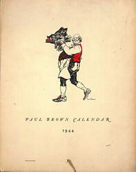 quot;Paul Brown Calendar For Brooks Brothers 1944quot;