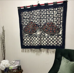 Lovers- The Story Of The Two Tortoises Handwoven Macrame/tapestry Wall Art