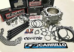 Trx450r Trx 450r 96mm Cp 12.5 Piston Cylinder Cometic Stage 2 Hot Cam Head Studs