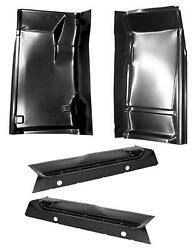 Inner And Outer Cab Floor Pan Kit For 88-02 Chevy Gmc Pickup Blazer Tahoe