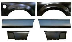 Wheel Arch And Front And Rear Lower Bed Kit 8and039 Bed For 04-08 Ford F150 Pickup Truck