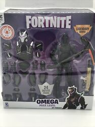 Epic Games Fortnite Legendary Series Omega Max Level Action Figure 27 Pieces