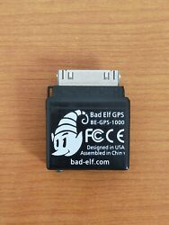 Bad Elf Be-gps-1000 With 30 Pin Connector For Ipad Can Use Lightning Adapter