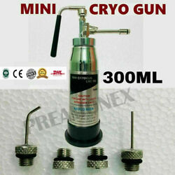 4 Nozzles Attachment With Mini Cryo Can 300ml Cryo System Cryosurgery Dhl