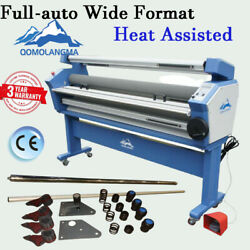 55in Full-auto Roll Cold Laminator Heat Assisted Laminating Machine With Trimmer