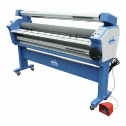 55 In Full-auto Wide Format Cold Laminator, With Heat Assisted With Trimmer