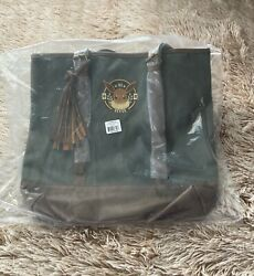 Loungefly Pokemon Eevee Tote Canvas Shoulder Bag Green NEW $45.00