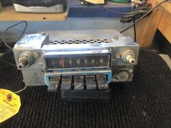 1966 Ford Mustang Am Push Button Radio