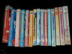 Freshman series LOT of 25. Not all books are pictured.Bindings are EUC