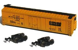 N Scale Aurora 4867 Postage Stamp Trains Armour 50' Mechanical Reefer Arlx 1754
