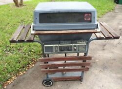 Vintage Char-broil Grill Charcoal Barbeque Pit 007724
