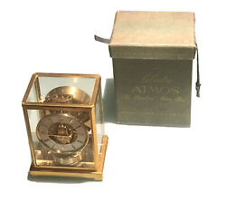 Vintage Antique Swiss Jaegerlecoultre Atmos Perpetual Motion Clock Carrying Case