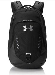 Under Armour Gameday Backpack School Bag Laptop 1316573 New Black Gray Pink UA $49.99