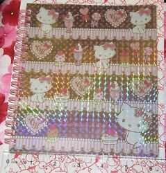 Super Rare 2010 Sanrio Prismatic Sweet Treats Charmmy Kitty Notebook W Stickers