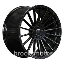 22 Staggered Gloss Black Style Wheels Rims For 2016+ Porsche Panamera 971