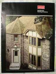 Owens Corning Fiberglas Built Up Roof Roofing Systems Asbestos Specification '82
