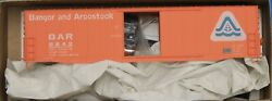 Ho Scale - Accurail 5723 Bangor And Aroostook 50' Welded Steel Boxcar 8842 Kit