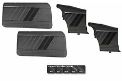 Sport R Door And Quarter Panel Set For 1969 Camaro Convertible By Tmi -made In Usa