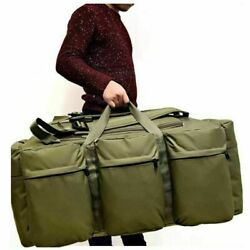 90L Large Military Tactical Backpack Outdoor Camping Trekking Duffle Luggage ZR1 $37.99
