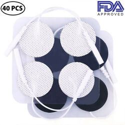Electrode Pads For Electrical Stimulation Massage Tens Unit 7000 Machine Therapy