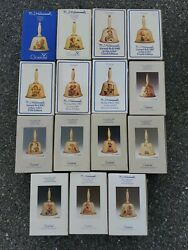 Lot Of 15 Hummel Goebel Annual Bells 1978–1992 With Boxes