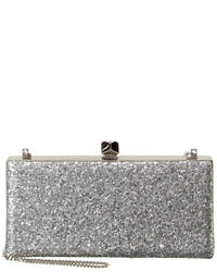 Jimmy Choo Celeste Glitter Clutch Women#x27;s $819.99