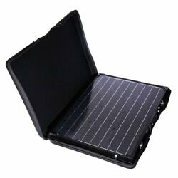 Solar Panel Monocrystalline Off Grid Portable Foldable Suitcase With Kickstand