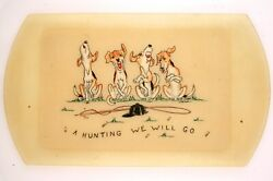 A Hunting We Will Go Cocktail Tray