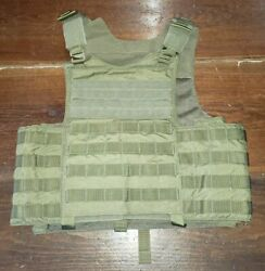 Firstspear Crye Siege Molle Small S Khaki Tan Armor Plate Carrier Tactical Vest