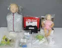 New American Red Cross Basic Life Support Training Kit Little And Baby Anne
