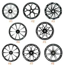 21and039and039 X 3.5and039and039 Front Wheel Rim Hub Single/dual Disc For Harley Touring Flhr 08-20