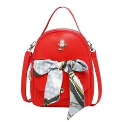 Fashion Mini Backpack Purse for Women amp; Teen Girls Color RED $15.00